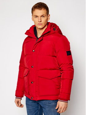 Tommy Hilfiger Tommy Hilfiger Doudoune Hdd MW0MW14888 Rouge Regular Fit