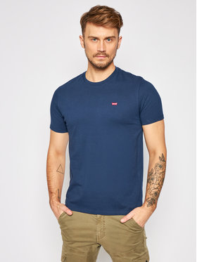 Levi's® Levi's® T-Shirt The Original 56605-0017 Dunkelblau Regular Fit