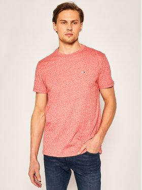 Tommy Jeans Tommy Jeans T-Shirt Slub tee DM0DM07809 Czerwony Regular Fit