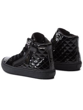 Geox Geox Sneakersy J Kalispera G. D J944GD 000HH C9999 S Černá