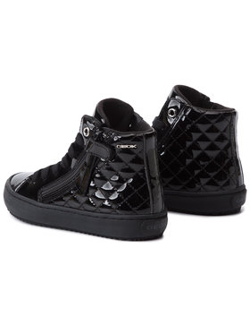 Geox Sneakersy J Kalispera G. D J944GD 000HH C9999 S Čierna