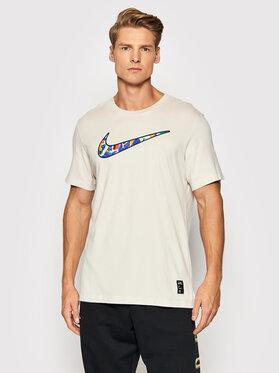 Nike Nike Marškinėliai A.I.R Kelly Anna London CZ9881 Smėlio Standard Fit