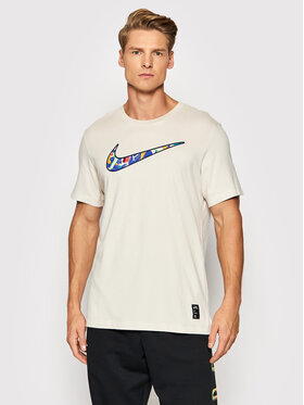 Nike Nike Тишърт A.I.R Kelly Anna London CZ9881 Бежов Standard Fit