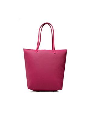 Lacoste Lacoste Torebka Vertical Shopping Bag NF1890PO Różowy