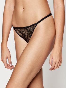 Calvin Klein Underwear Calvin Klein Underwear Chilot tanga 000QF6100E Negru