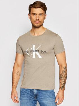 Calvin Klein Jeans Calvin Klein Jeans T-shirt J30J317065 Gris Slim Fit