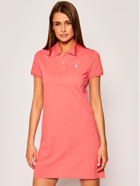 Polo Ralph Lauren Polo Ralph Lauren Každodenní šaty 211799490 Červená Regular Fit
