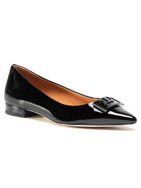 Tory Burch Tory Burch Cipele Gigi 20Mm Pointy Toe Flat Patent Leather 79514 Crna