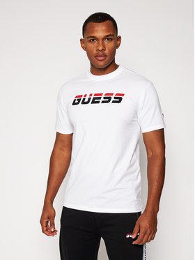 Guess Guess T-Shirt Regular Tee U0BA47 K6YW1 Biały Regular Fit