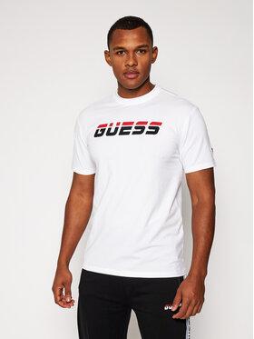 Guess Guess T-Shirt Regular Tee U0BA47 K6YW1 Bílá Regular Fit