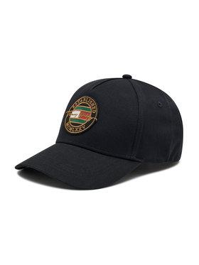Tommy Hilfiger Tommy Hilfiger Шапка с козирка Signature Patch Cap AM0AM07607 Черен
