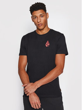 Volcom Volcom T-Shirt C. Vivary Fa A5212106 Μαύρο Regular Fit
