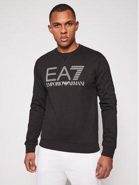 EA7 Emporio Armani EA7 Emporio Armani Majica dugih rukava 3KPM60 PJ05Z 1200 Crna Regular Fit