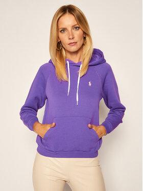Polo Ralph Lauren Polo Ralph Lauren Sweatshirt 211794394006 Violett Regular Fit