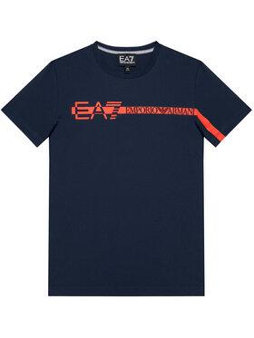 EA7 Emporio Armani EA7 Emporio Armani Tricou 3KBT58 BJ02Z 1554 Bleumarin Regular Fit