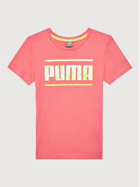 Puma Puma Póló Alpha 581409 Rózsaszín Regular Fit