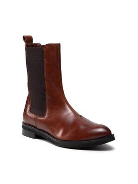 Solo Femme Solo Femme Členková obuv s elastickým prvkom 30818-06-L26/000-52-00 Hnedá