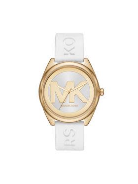 Michael Kors Michael Kors Часовник Janelle MK7141 Бял