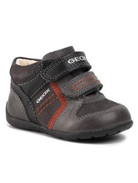 Geox Geox Šnurovacia obuv B Kaytan B. B B9450B 0CL22 C0268 Sivá
