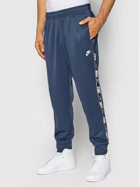 Nike Nike Sportinės kelnės Sportswear DM4673 Tamsiai mėlyna Regular Fit