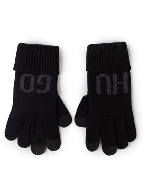 Hugo Hugo Pánske rukavice Wenno 50415846 Čierna