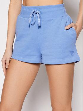 Guess Guess Pantaloni scurți sport O1GA02 K68I1 Albastru Regular Fit