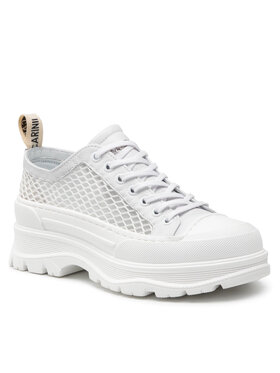 Carinii Carinii Sneakers aus Stoff B7397 Weiß