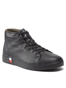 Tommy Hilfiger Tommy Hilfiger Sneakers Corporate High Modern Vulc Lea FM0FM03740 Noir