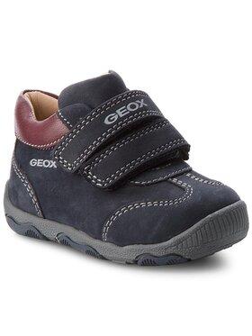 Geox Geox Auliniai batai B N.Balu' B. A B840PA 03285 C4335 Tamsiai mėlyna