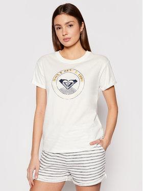 Roxy Roxy T-Shirt Epic Afternoon ERJZT05123 Weiß Regular Fit