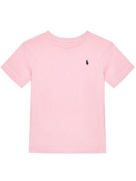 Polo Ralph Lauren Polo Ralph Lauren Marškinėliai Cn Tee 323674984007 Rožinė Regular Fit