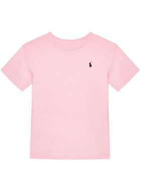 Polo Ralph Lauren Polo Ralph Lauren Tričko Cn Tee 323674984007 Ružová Regular Fit