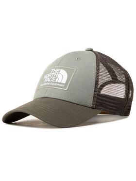 The North Face Coccinelle Czapka z daszkiem Mudder Trucker Hat NF00CGW2Y081 Zielony