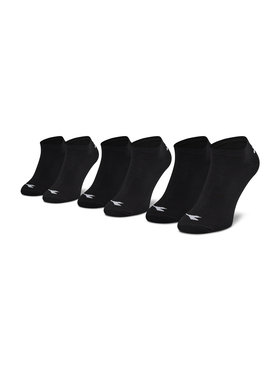 Diadora Diadora Lot de 3 paires de chaussettes basses unisexe Invisible DD-D9155-200 Noir