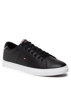 Tommy Hilfiger Tommy Hilfiger Sportcipő Essential Leather Sneaker FM0FM03739 Fekete