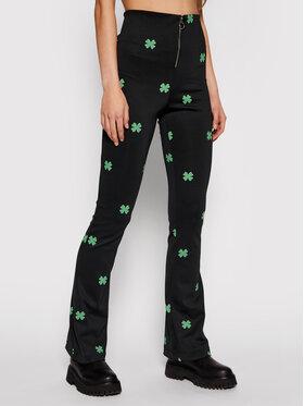 Local Heroes Local Heroes Текстилни панталони Make A Wish SS21P0014 Черен Regular Fit
