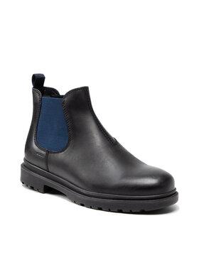 Geox Geox Členková obuv s elastickým prvkom U Andalo A U16DDA 00045 C4429 Čierna