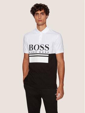 Boss Boss Polo Pavel 50435438 Czarny Regular Fit