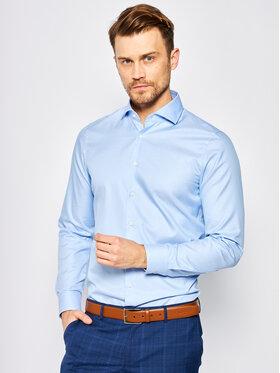 Joop! Joop! Marškiniai 17 JSH-04Panko 30011876 Mėlyna Slim Fit