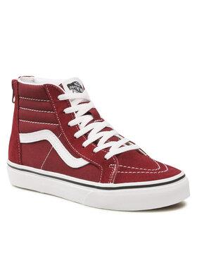Vans Vans Sneakersy SK8-Hi Zip VN0A4BUX9AK1 Bordowy