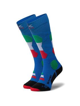 X-Socks X-Socks Chaussettes hautes unisex Ski Patriot Italy 4.0 XSSS45W19U Bleu