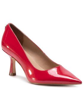 Guess Guess Обувки на ток Galyan2 FL7GY2 PAF08 Червен