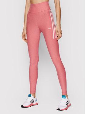 adidas adidas Legginsy Fakten Tights GN4399 Różowy Slim Fit