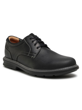 Clarks Clarks Pantofi Rendell Plain 261453467 Negru