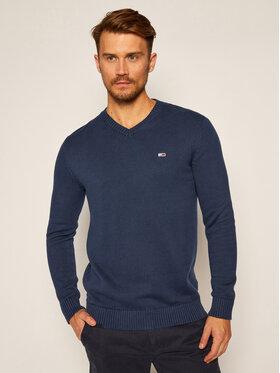 Tommy Jeans Tommy Jeans Sweater Essential DM0DM08803 Sötétkék Regular Fit