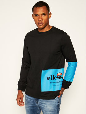 Ellesse Ellesse Sweatshirt Marchio LS Tee SHE08563 Noir Regular Fit