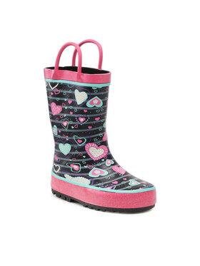 Nelli Blu Nelli Blu Guminiai batai FL201025 Juoda