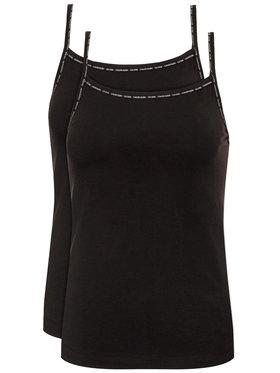 Calvin Klein Underwear Calvin Klein Underwear 2 db-os felső szett Cami 000QS6440E Fekete Regular Fit