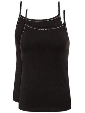 Calvin Klein Underwear Calvin Klein Underwear Комплект 2 блузи без ръкави Cami 000QS6440E Черен Regular Fit