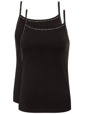 Calvin Klein Underwear Calvin Klein Underwear Σετ 2 τοπ Cami 000QS6440E Μαύρο Regular Fit